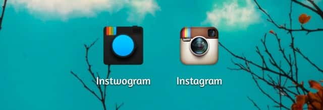 Instwogram & Instagram - Use Two Instagram Accounts on One Smartphone.