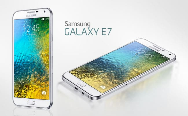 Samsung Galaxy E7 IMEI Number - Find Galaxy E7 MEID Number - Photo of the Galaxy E7