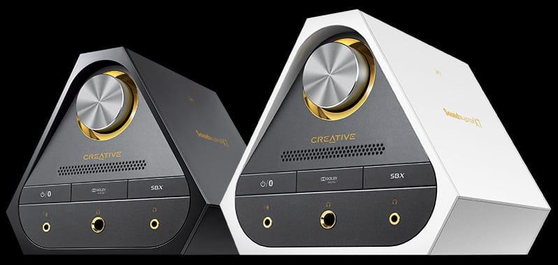 Sound Blaster X7 Black, Sound Blaster X7 White.