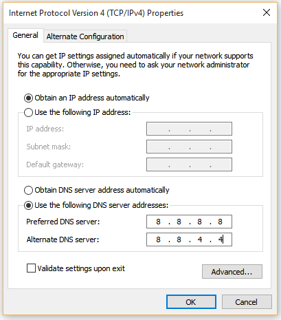 change-dns-addresses-nxdomain-fix