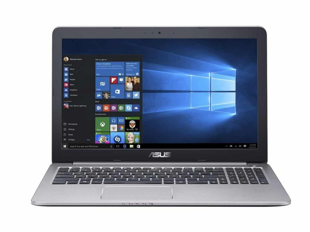 ASUS K501LX 15.6 Gaming Laptop - Gaming Laptops Under 1000 USD - Best Gaming Laptop to Buy on a 1000 Dollar Budget