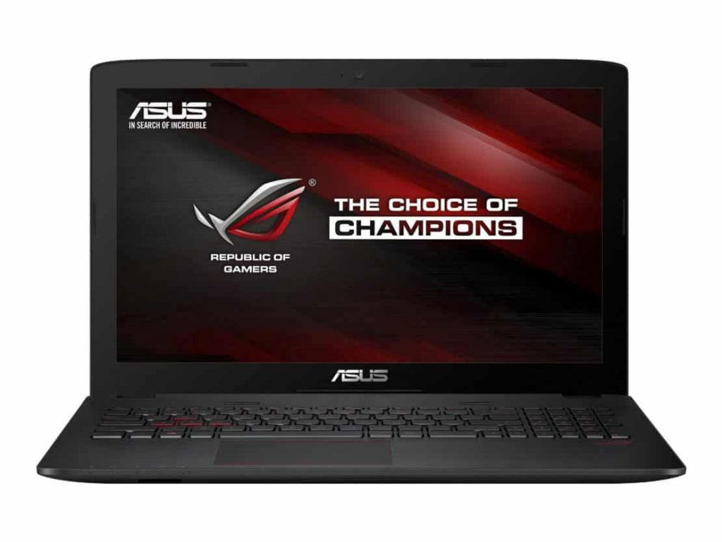 ASUS ROG GL552VW-DH71 15-Inch Gaming Laptop - Best Gaming Laptop Under 1000