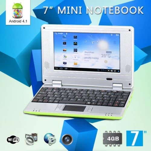 Goldengulf 7-Inch Computer Laptop for Children - Affordable Children's Notebook