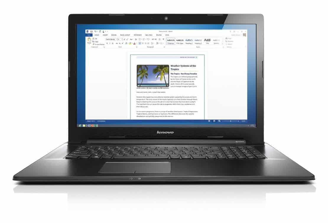 Lenovo Z70 Gaming Laptop - Best Gaming Laptops Under 1000 Dollars on Amazon - Affordable Gaming Laptops Under $1000