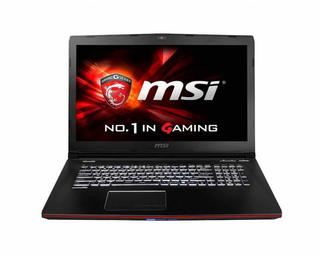MSI GE72 APACHE-264 Affordable Gaming Laptop Under $1000