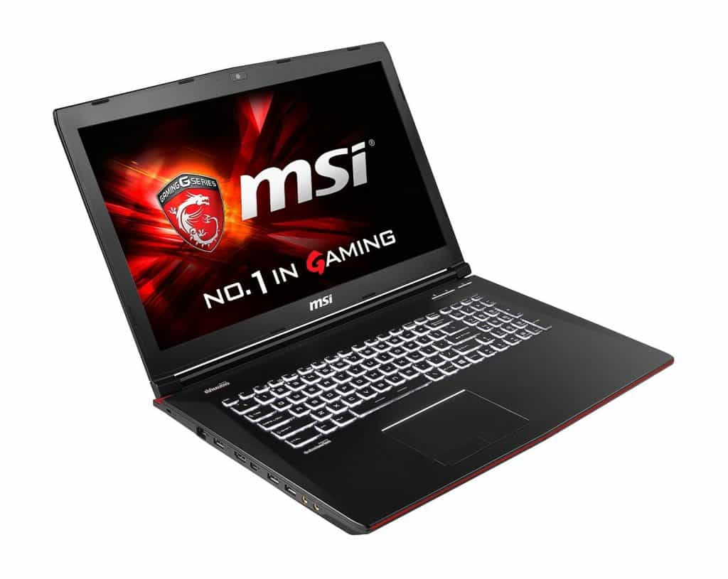 MSI GE72 APACHE-264 Gaming Laptop For Under 1000