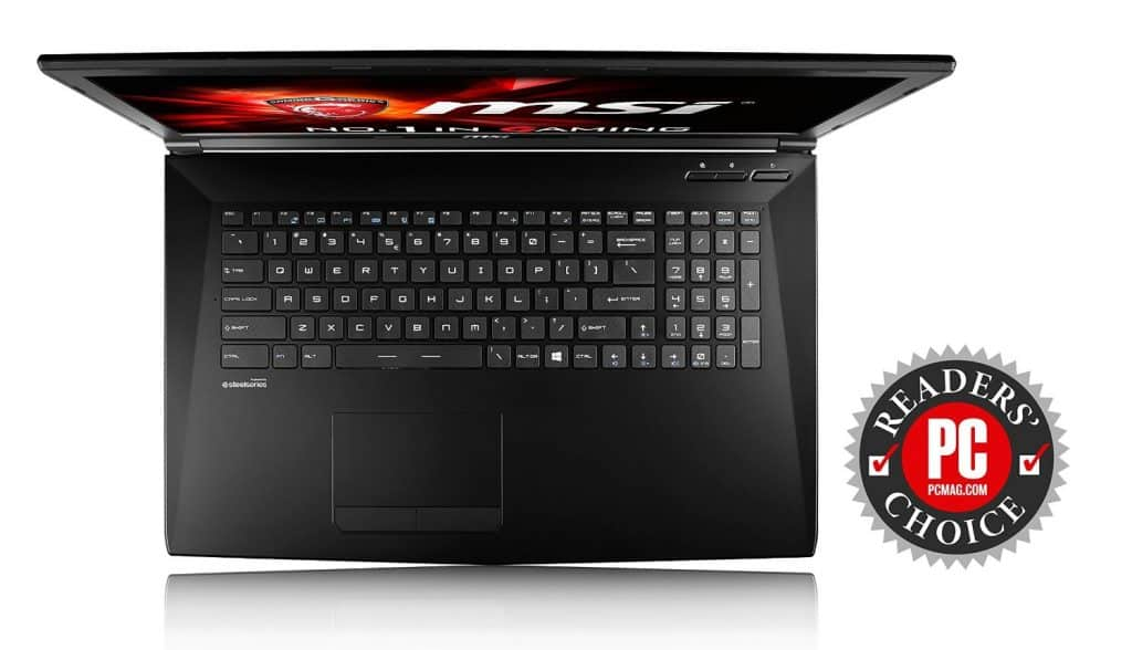 MSI GL72 6QF-405 Best Gaming Laptop Under 1000