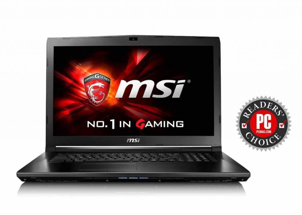 MSI GL72 6QF-405 Gaming Laptop - Best Gaming Laptop Under 1000