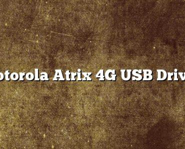 Motorola Atrix 4G USB Driver