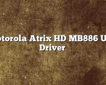 Motorola Atrix HD MB886 USB Driver