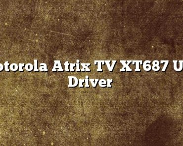 Motorola Atrix TV XT687 USB Driver