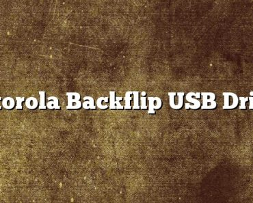 Motorola Backflip USB Driver
