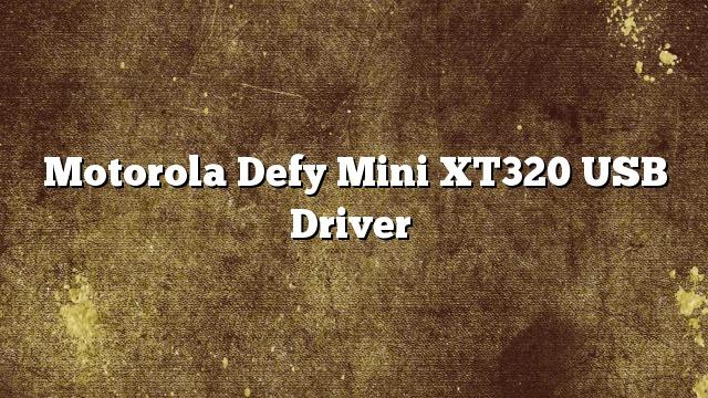 manual del motorola defy mini