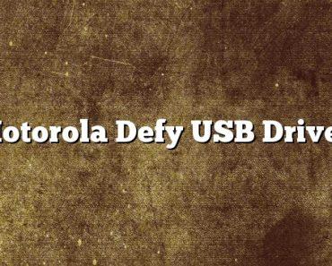 Motorola Defy USB Driver