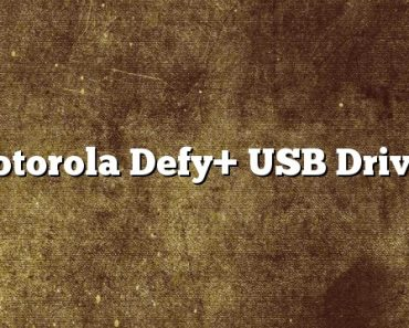 Motorola Defy+ USB Driver