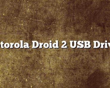 Motorola Droid 2 USB Driver