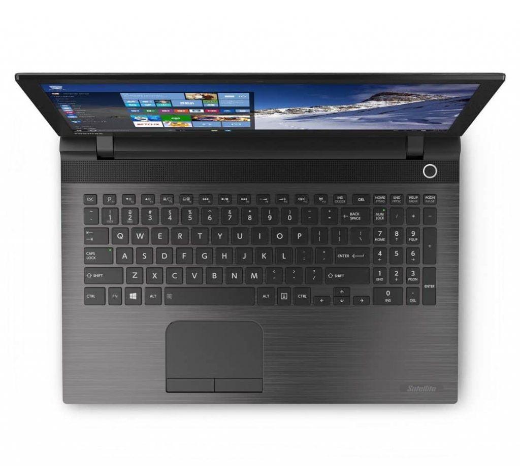 Toshiba Satellite C55-C5241 15.6 Inch Budget Gaming Laptop For Less Than $500 - Best Gaming Laptop Under 500