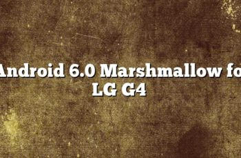 Android 6.0 Marshmallow for LG G4