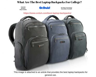 Best Laptop Backpacks - Full List - Best Laptop Bags - Best Laptop Rucksacks (1)