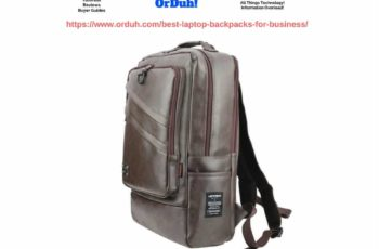 Best Laptop Backpacks for Business - Laptop Bags for Professionals - Work Rucksacks with Laptop Sleeve (1)