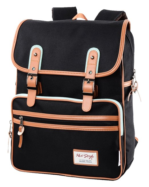 [HotStyle Basic Classic] SmileDay Vintage Laptop Bags for College Students