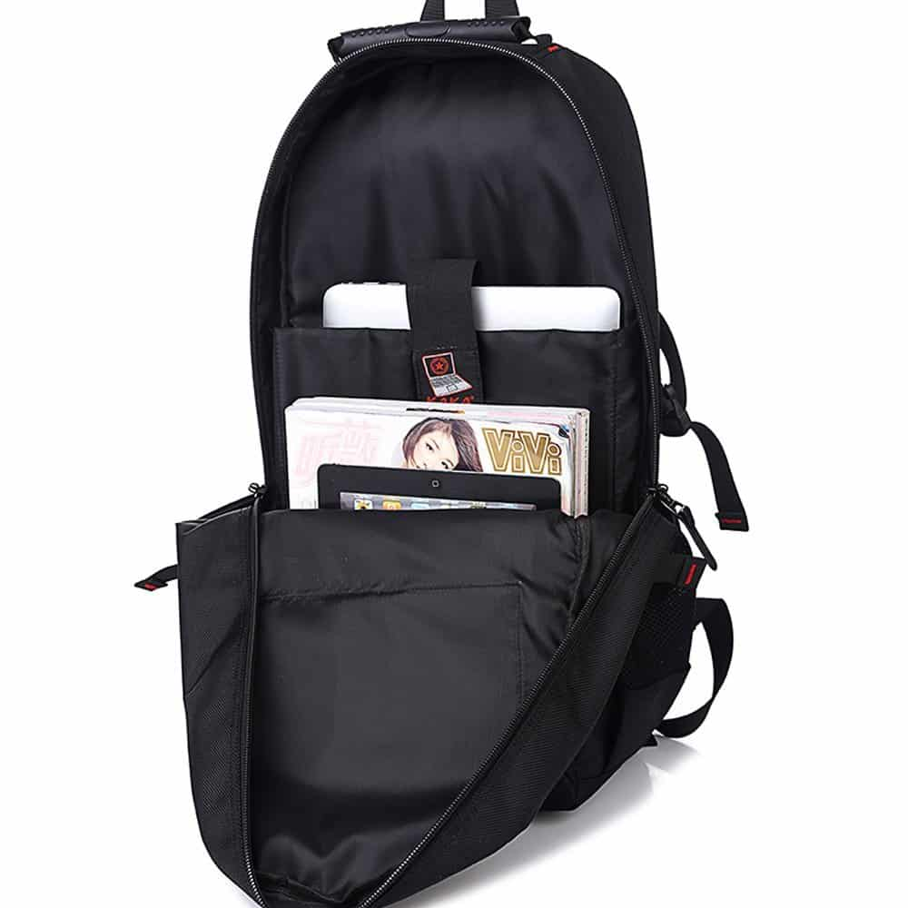 KAKA Laptop Bag - Good Laptop Rucksack for Tourists & Travelers