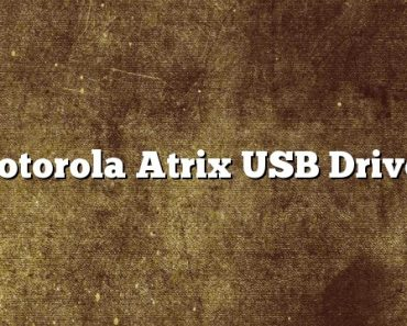 Motorola Atrix USB Driver