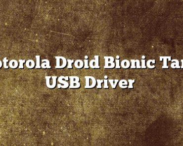 Motorola Droid Bionic Targa USB Driver