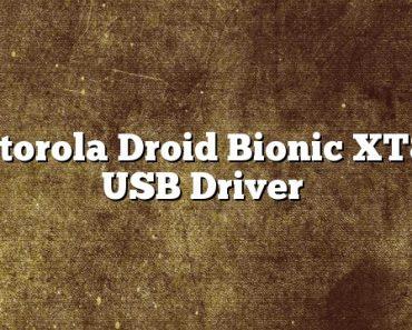 Motorola Droid Bionic XT865 USB Driver