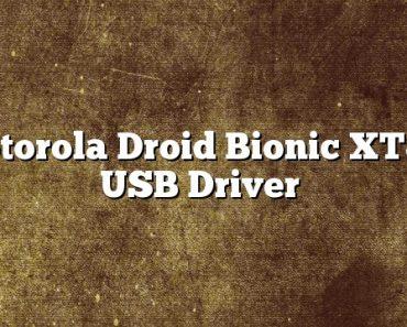 Motorola Droid Bionic XT875 USB Driver