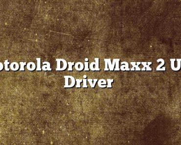 Motorola Droid Maxx 2 USB Driver