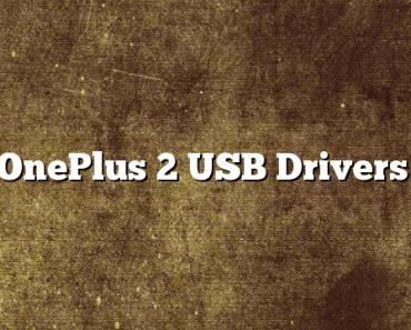 OnePlus 2 USB Drivers, OnePlus 2 USB Driver