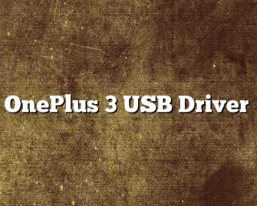 OnePlus 3 USB Driver, OnePlus 3 USB Drivers