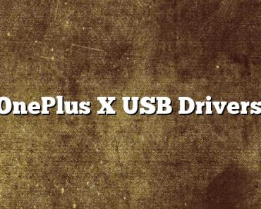 OnePlus X USB Drivers