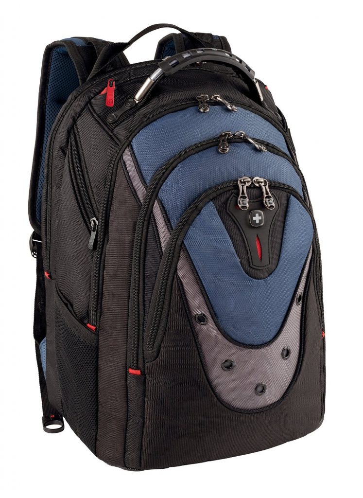 SwissGear Blue Ibex 17 Inch Computer Backpack - Best Computer Backpacks