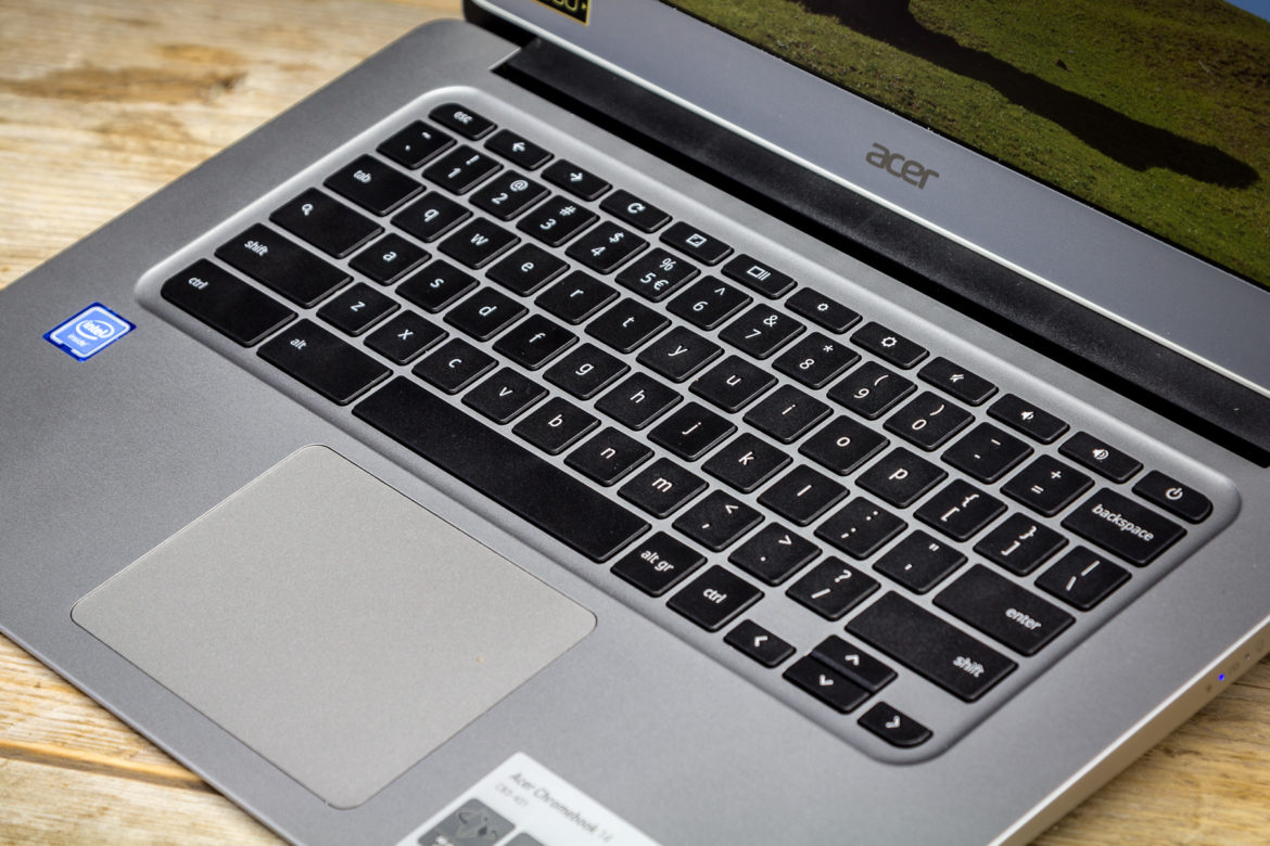 Acer Chromebook 14 Keyboard and Touchpad
