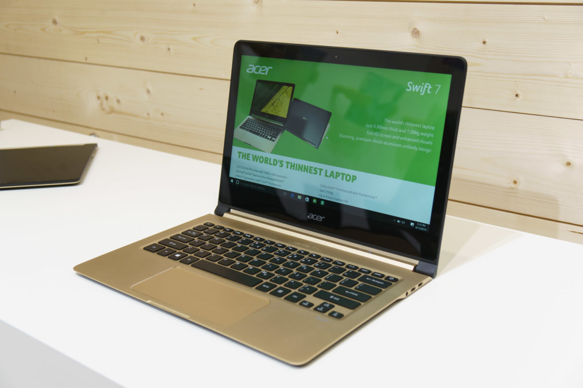 Acer Swift 7 Display - Screen