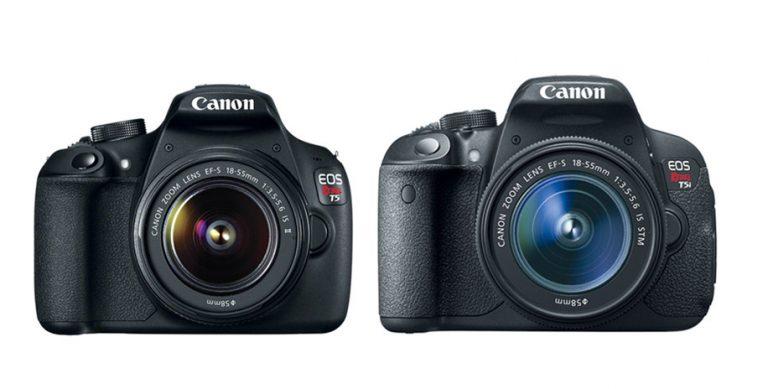 Canon T5 vs Canon T5i