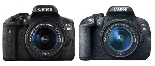 Canon Rebel T6i vs T5i – High-End Rebel Comparison