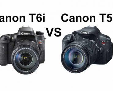 Canon T5i vs T6i - Canon T6i vs T5i