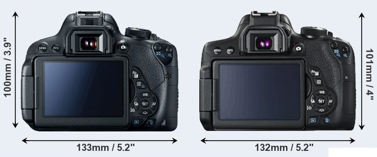 Canon T5i vs Canon T6i
