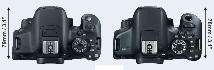 Canon T6i vs Canon T5i, Canon T5i vs Canon T6i