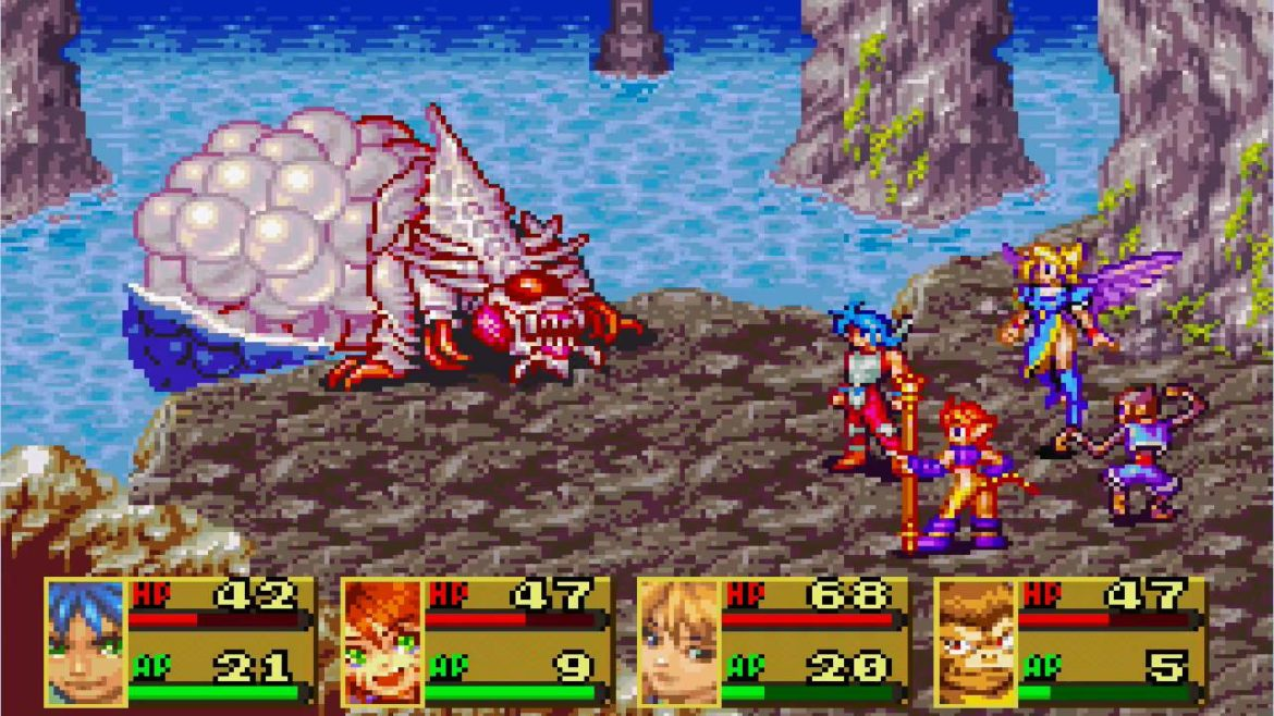 Breath of Fire II - Best GBA RPG Games