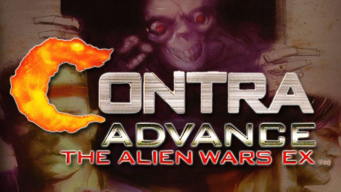 Contra Advance The Alien Wars EX - Best GBA Games of All Time