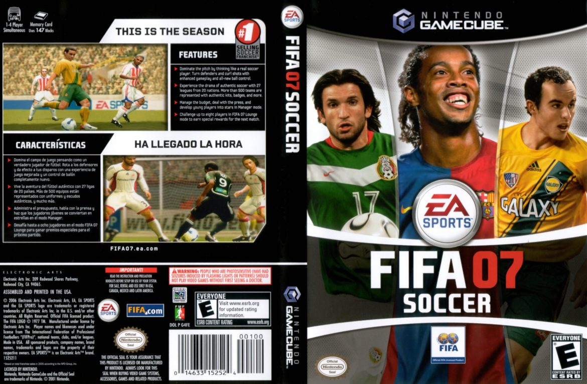 FIFA 07 - Awesome GBA Games