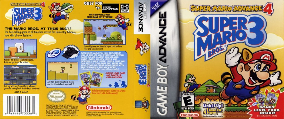 Super Mario Advance - Games in Series