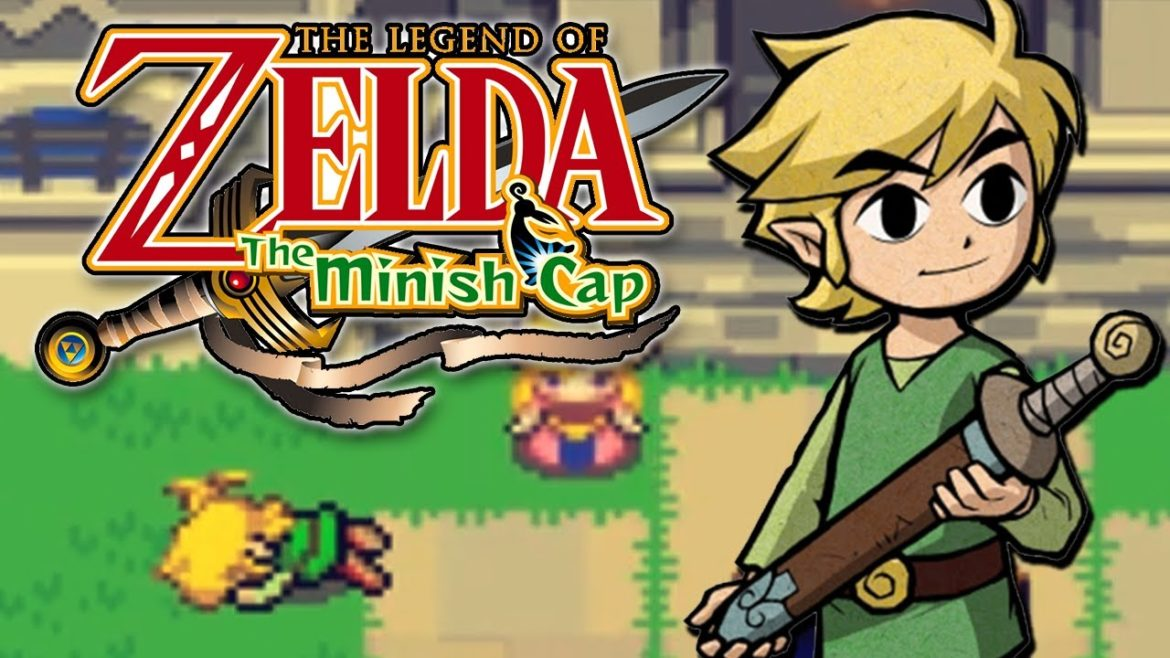 The Legend of Zelda The Minish Cap - best gameboy advance games