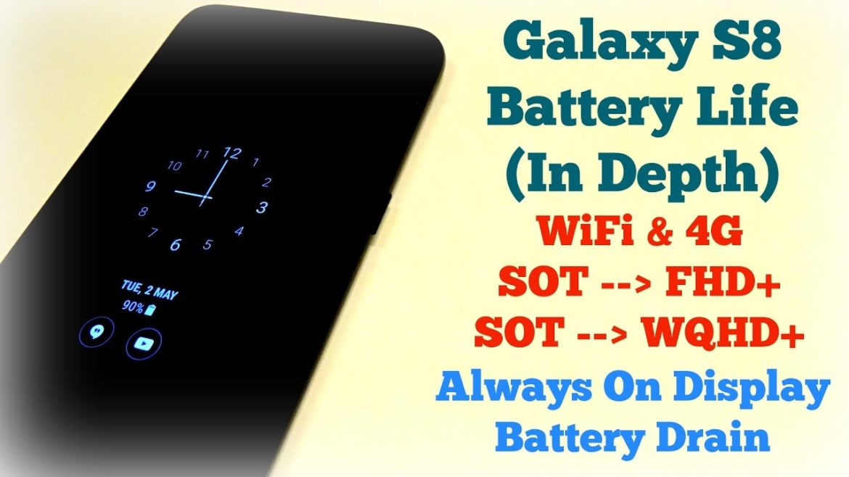 galaxy s8 battery drain - overheating fix