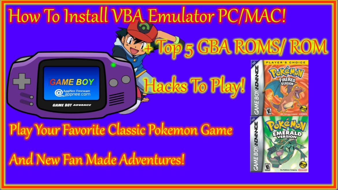 gameboy advance emulator, gba emulator