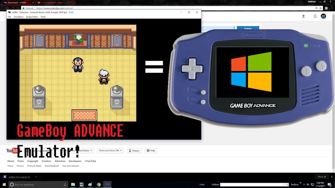 gameboy advanced emulator, gba emulater, gameboy simulator